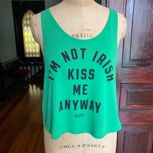 PINK Victoria's Secret Irish Top Small EUC